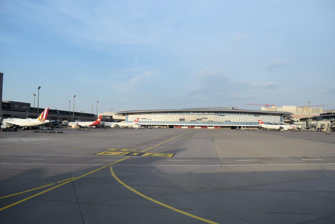 Общий вид аэропорта Цюрих