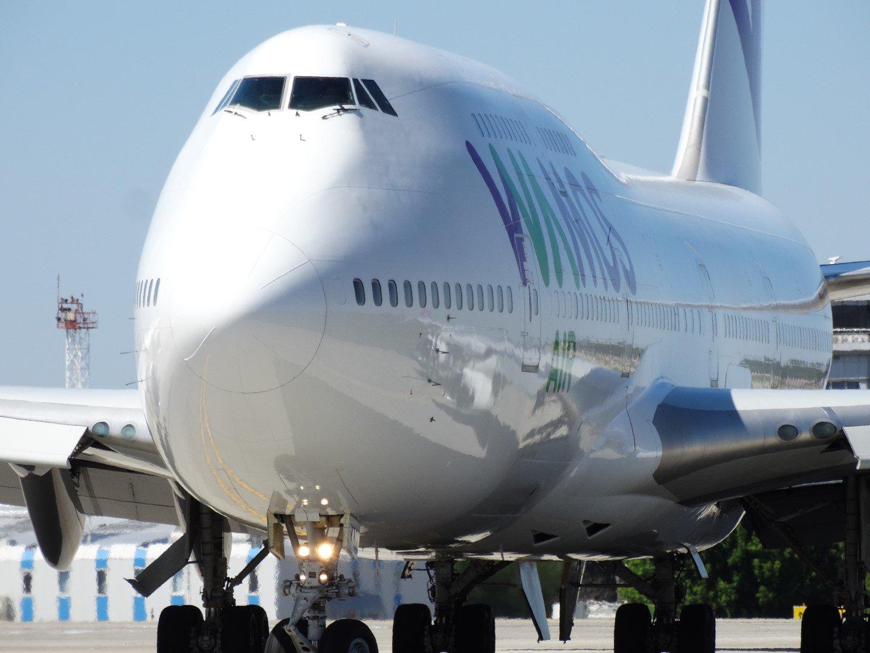 Авиалайнер Боинг-747-400 авиакомпании Wamos Air