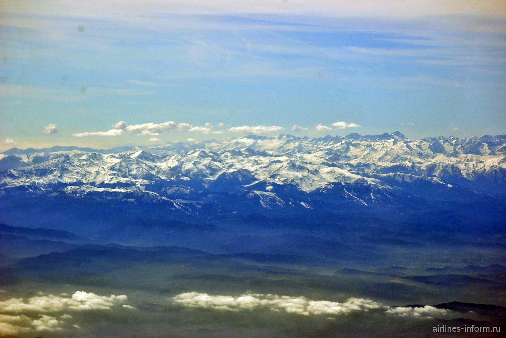 Приморские Альпы на границе Франции и Италии