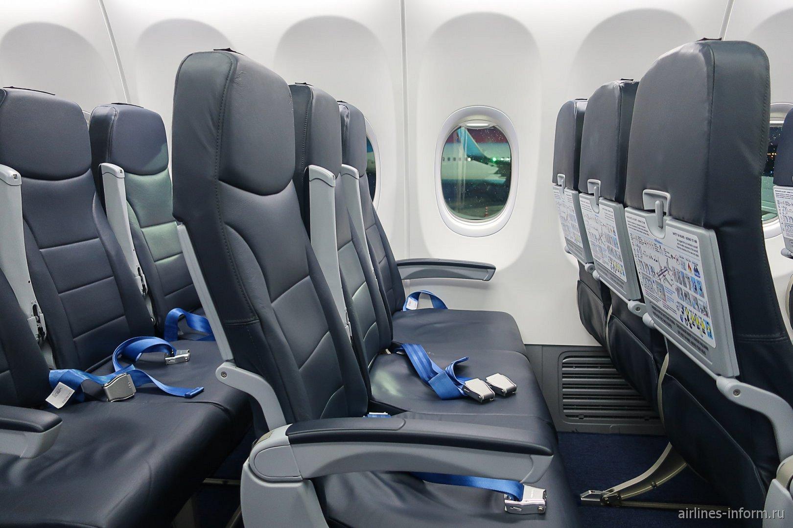 Пассажирские места в Боинге-737-800 авиакомпании