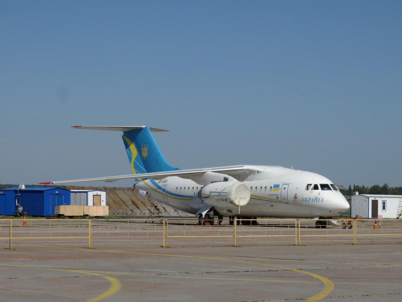 Самолет Ан-148-100 Правительственного авиаотряда Украины