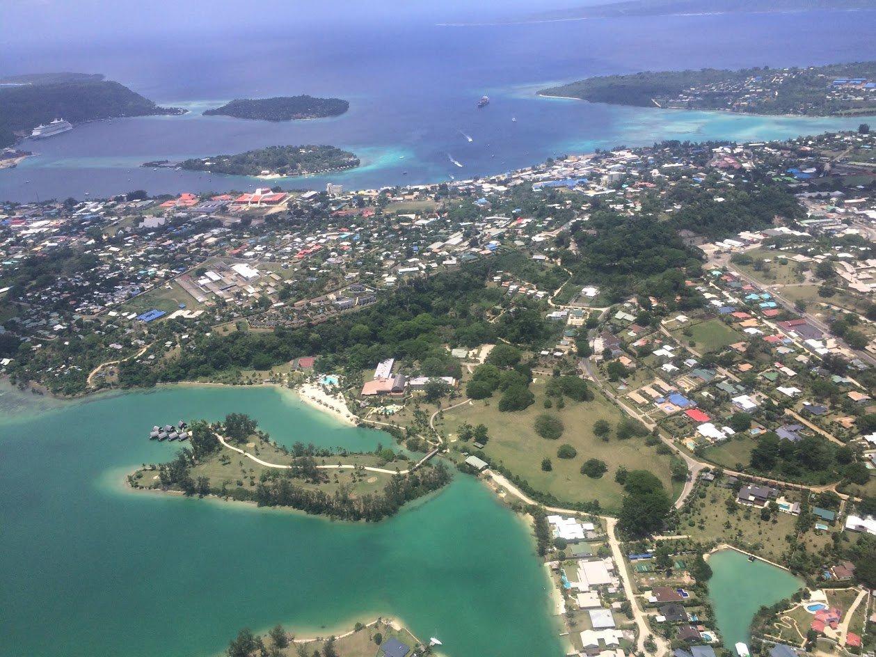 Столица Вануату город Порт-Вила