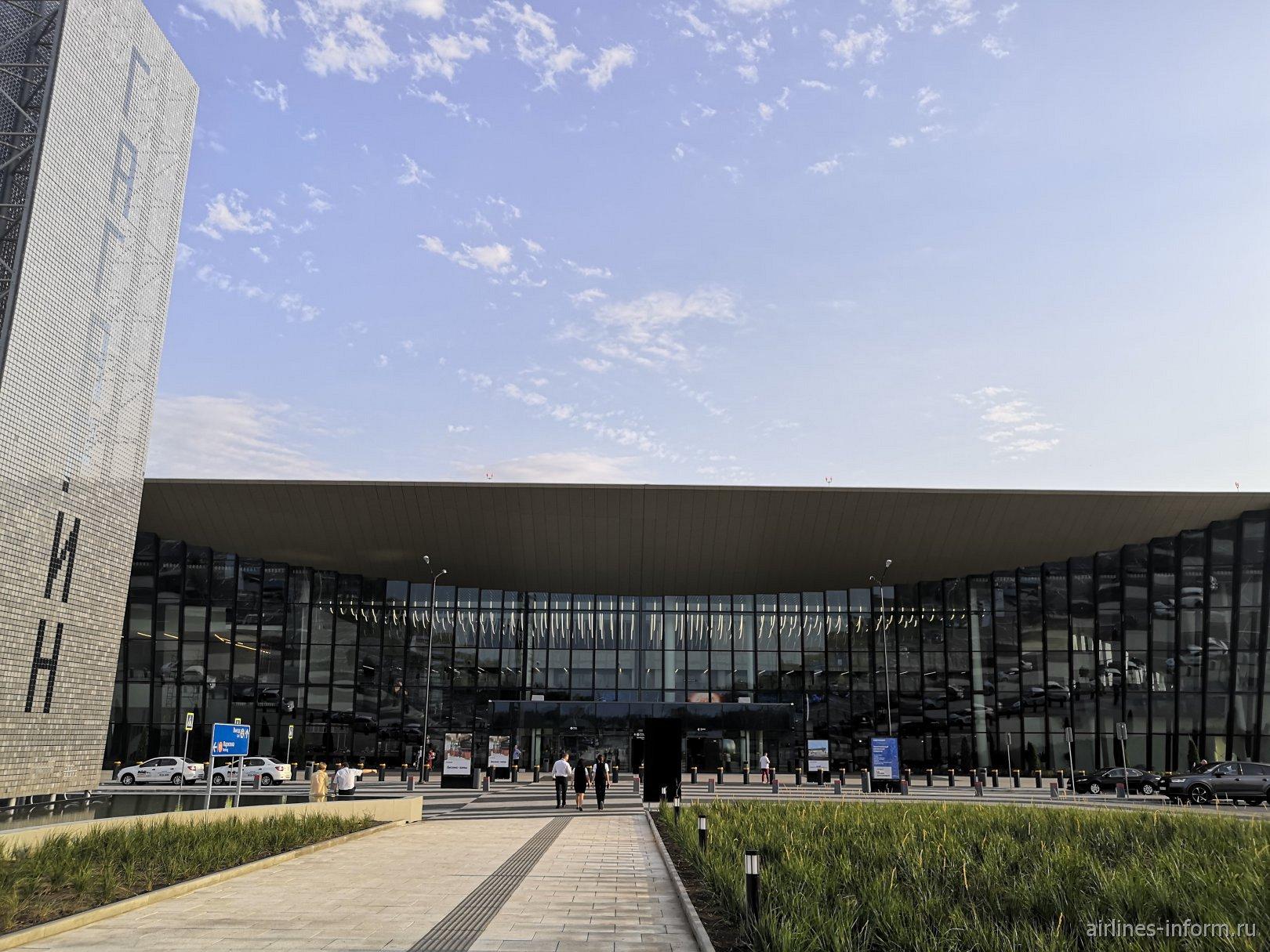 Пассажирский терминал аэропорт Гагарин в Саратове