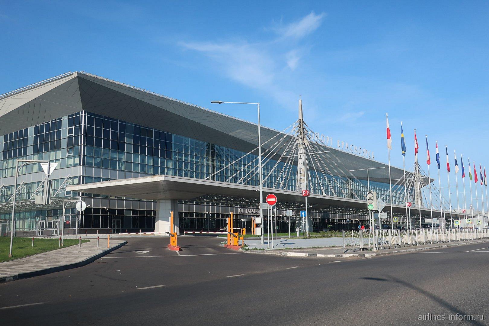 Новый пассажирский терминал красноярского аэропорта