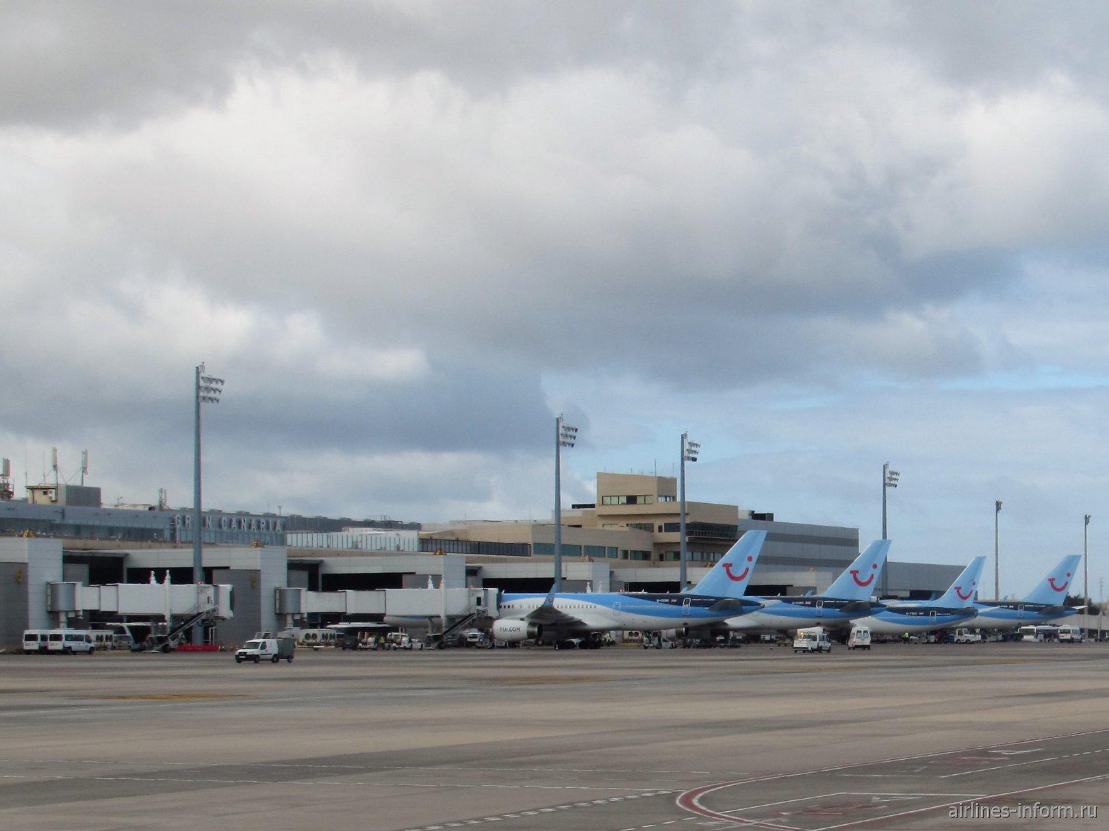 Аэропорт Гран-Канария на Канарских островах