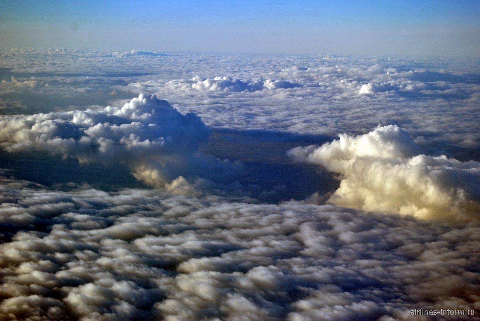 В небе над Францией