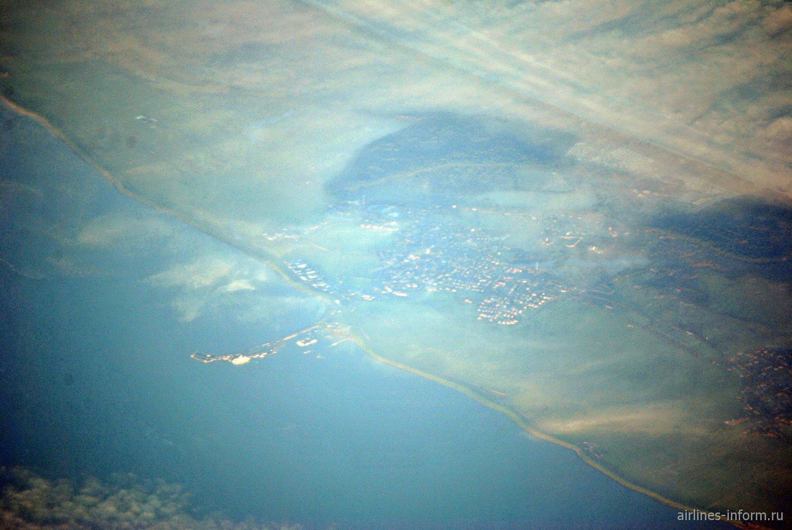 Город Нес на острове Амеланд из архипелага Фризских островов