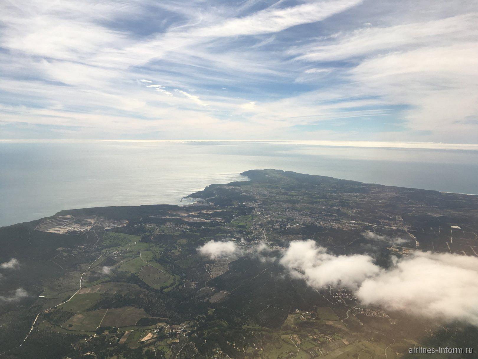 Побережье Атлантического океана в Португалии