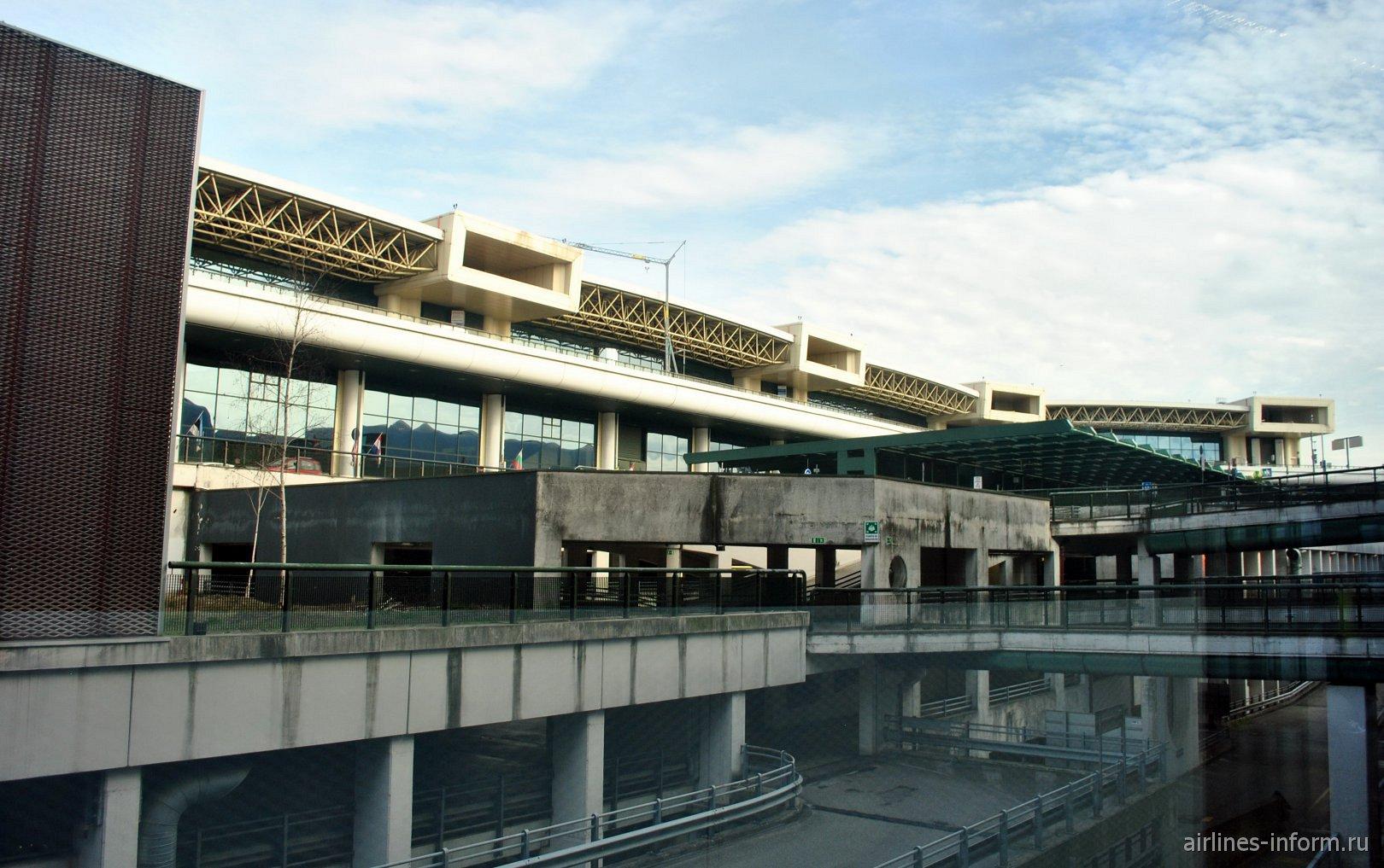 Пассажирский терминал Т1 аэропорта Милан Мальпенса