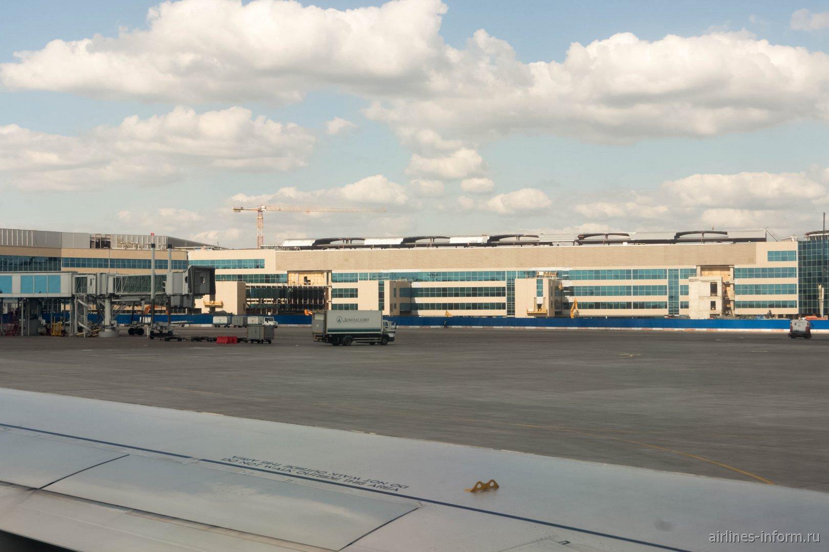 Строительство нового терминала в аэропорту Домодедово