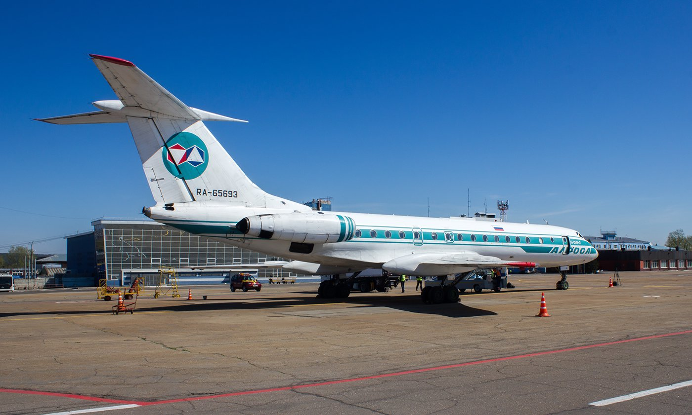 Самолет Ту-134 RA-65693 авиакомпании