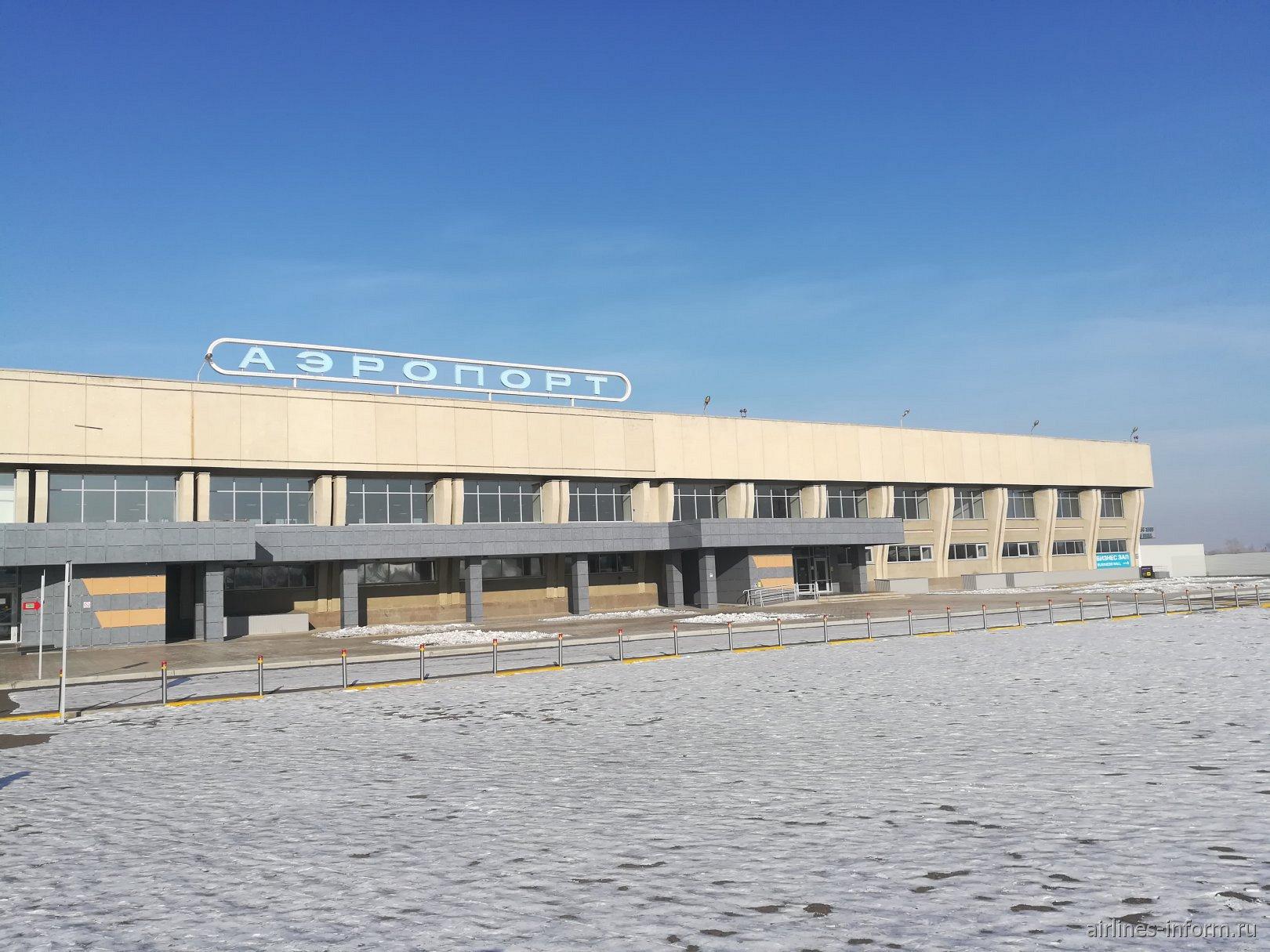 Терминал внутренних воздушных линий аэропорта Чита Кадала