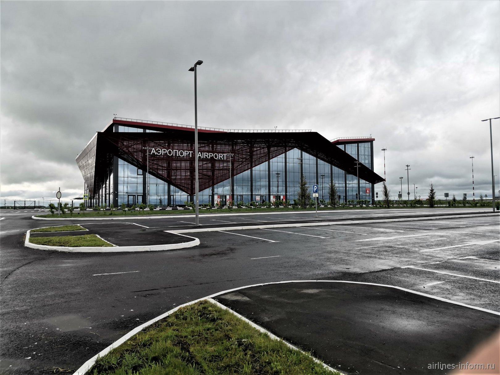 Привокзальная площадь аэропорта Саранск