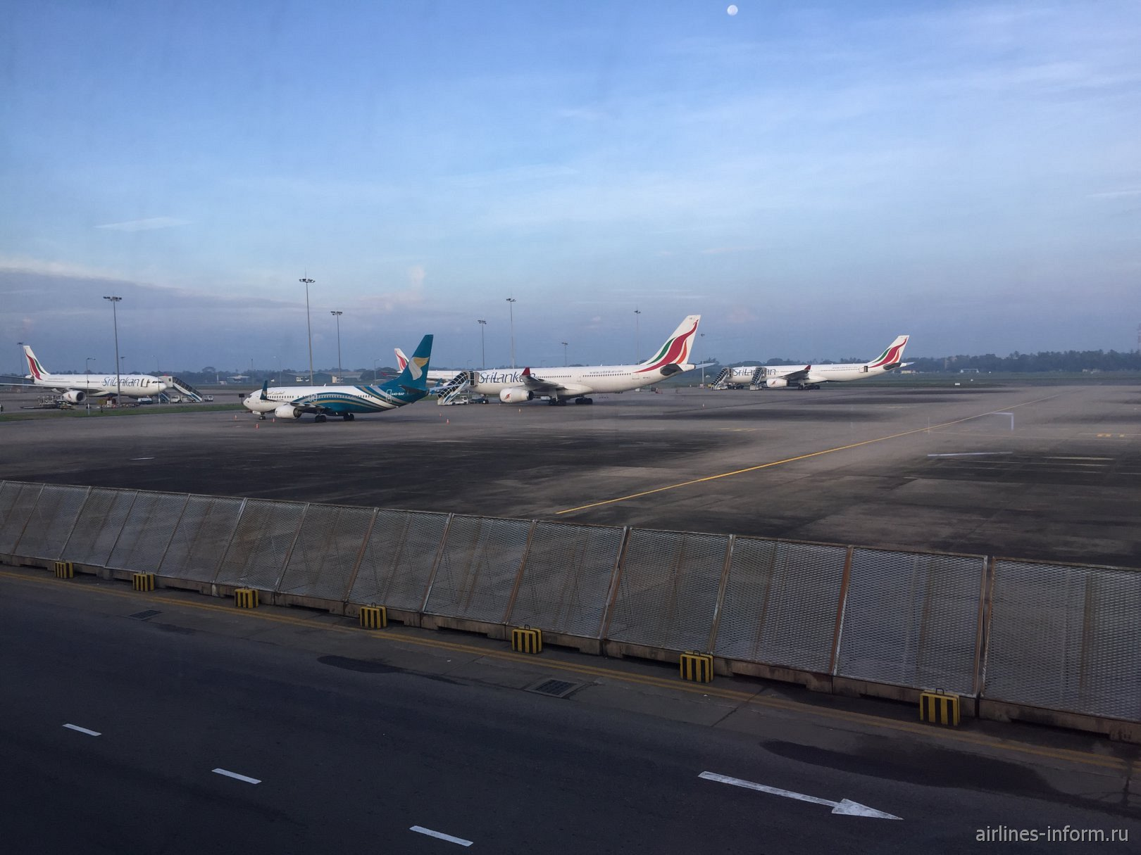 Летное поле аэропорта Коломбо Бандаранайке