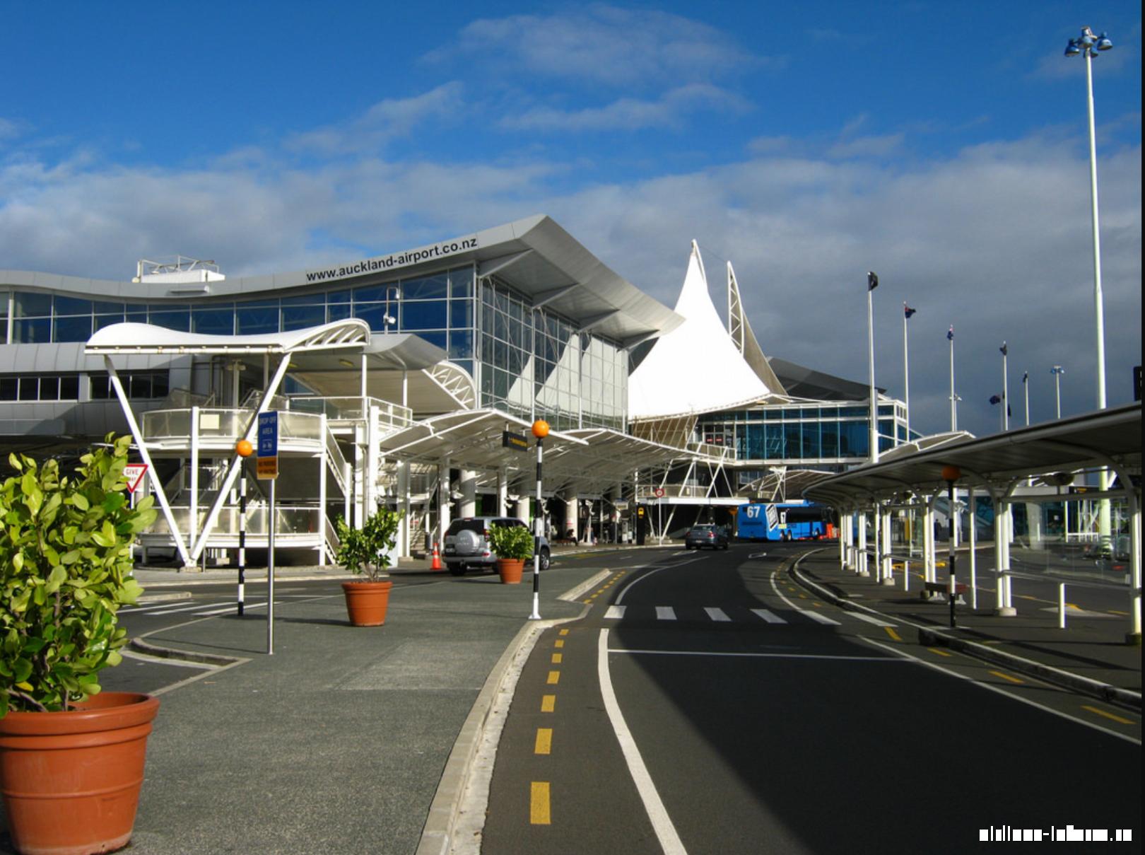 Международный терминал новозеландского аэропорта Окленд