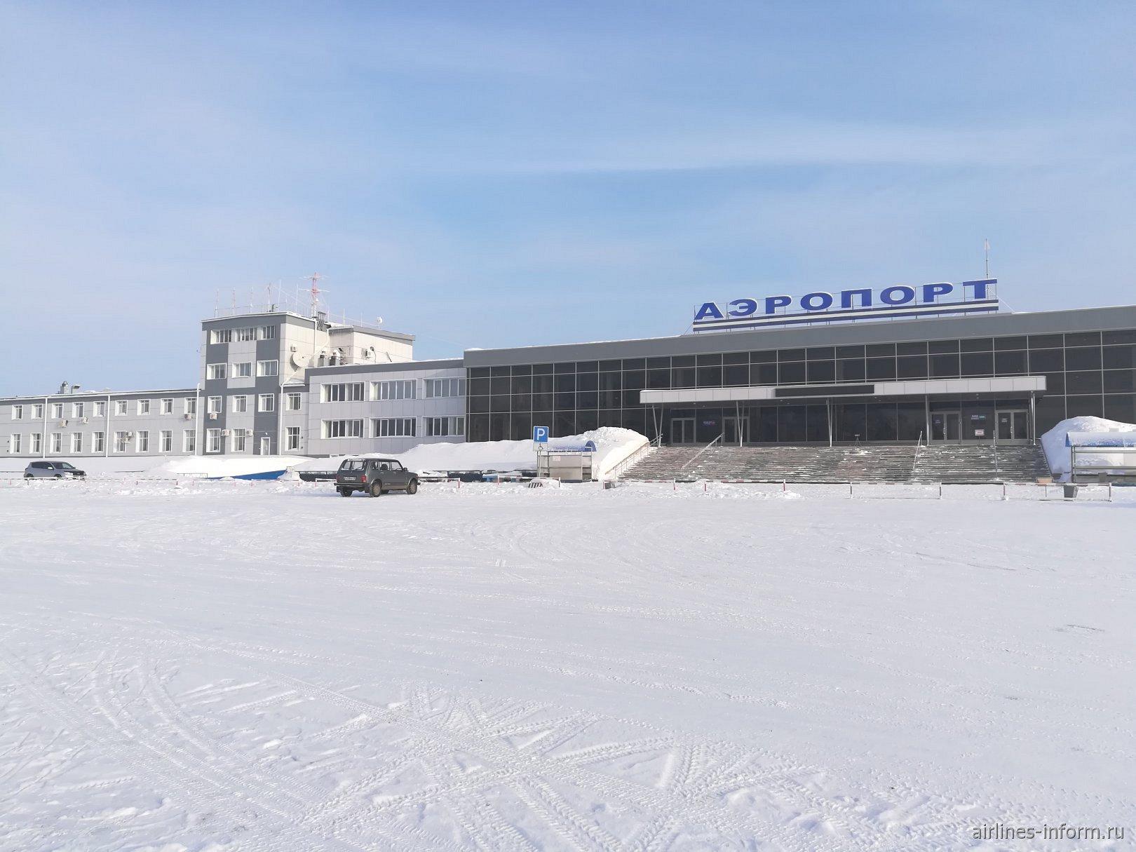 Привокзальная площадь аэропорта Братск