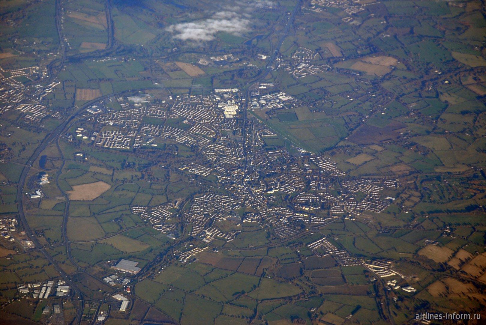 Город Naas в Ирландии