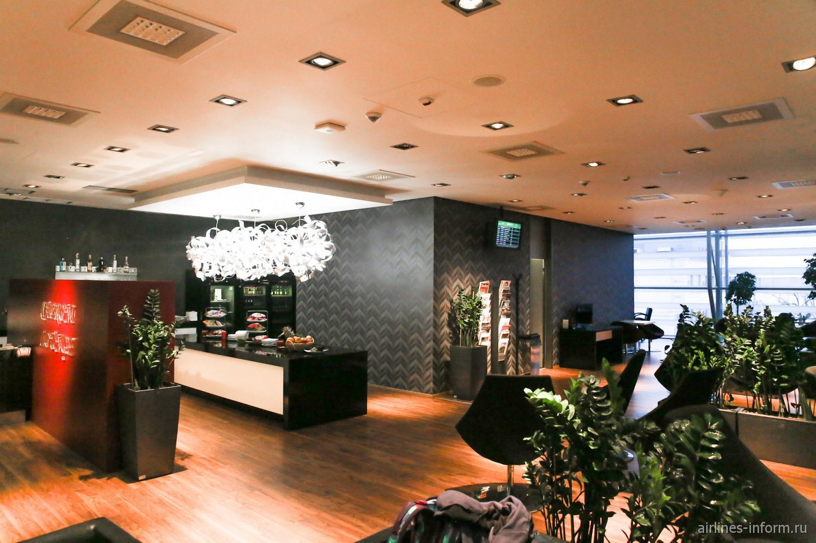 Бизнес-зал Caproni в аэропорту Братиславы