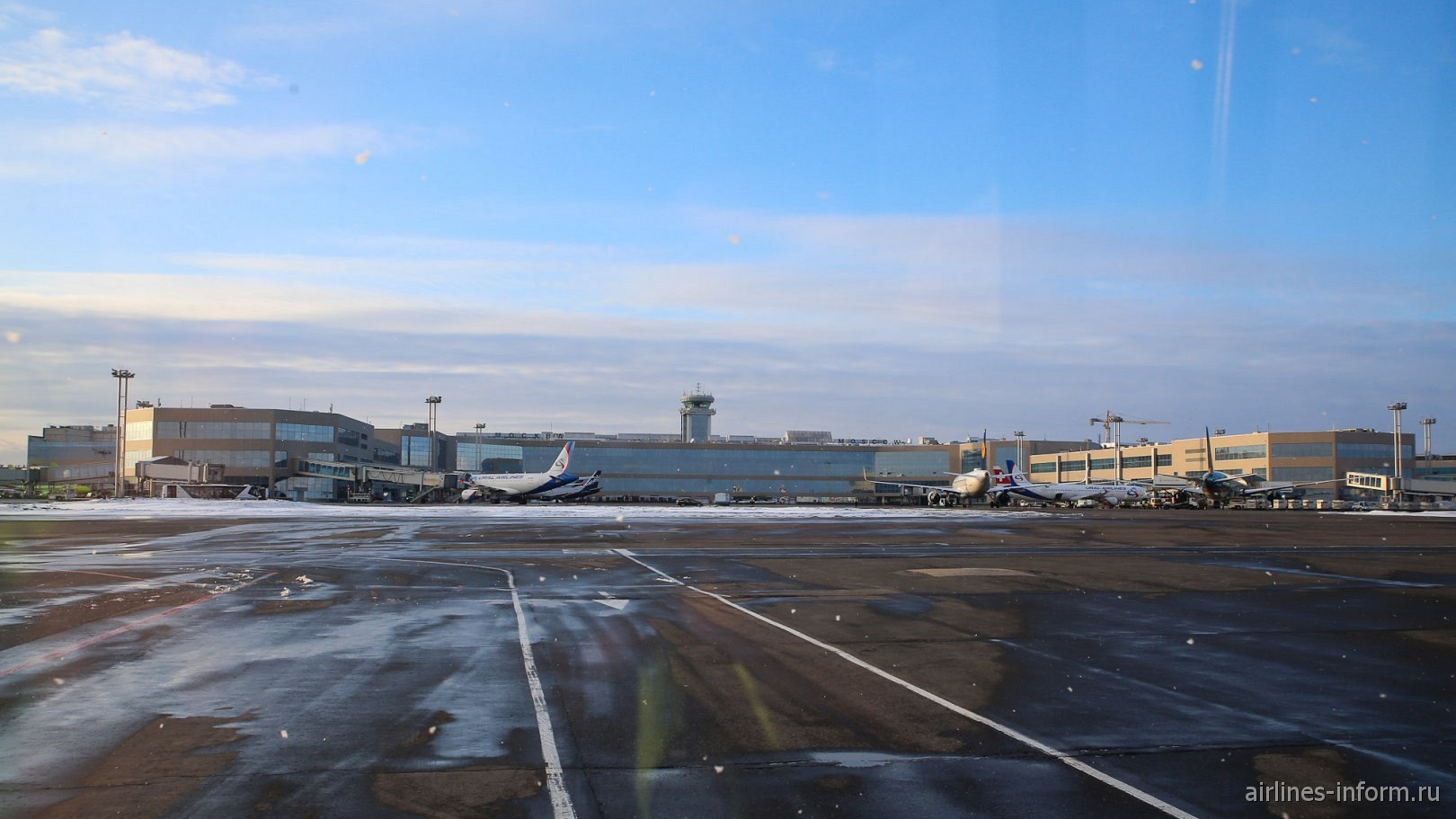 Аэровокзальный комплекс аэропорта Москва Домодедово