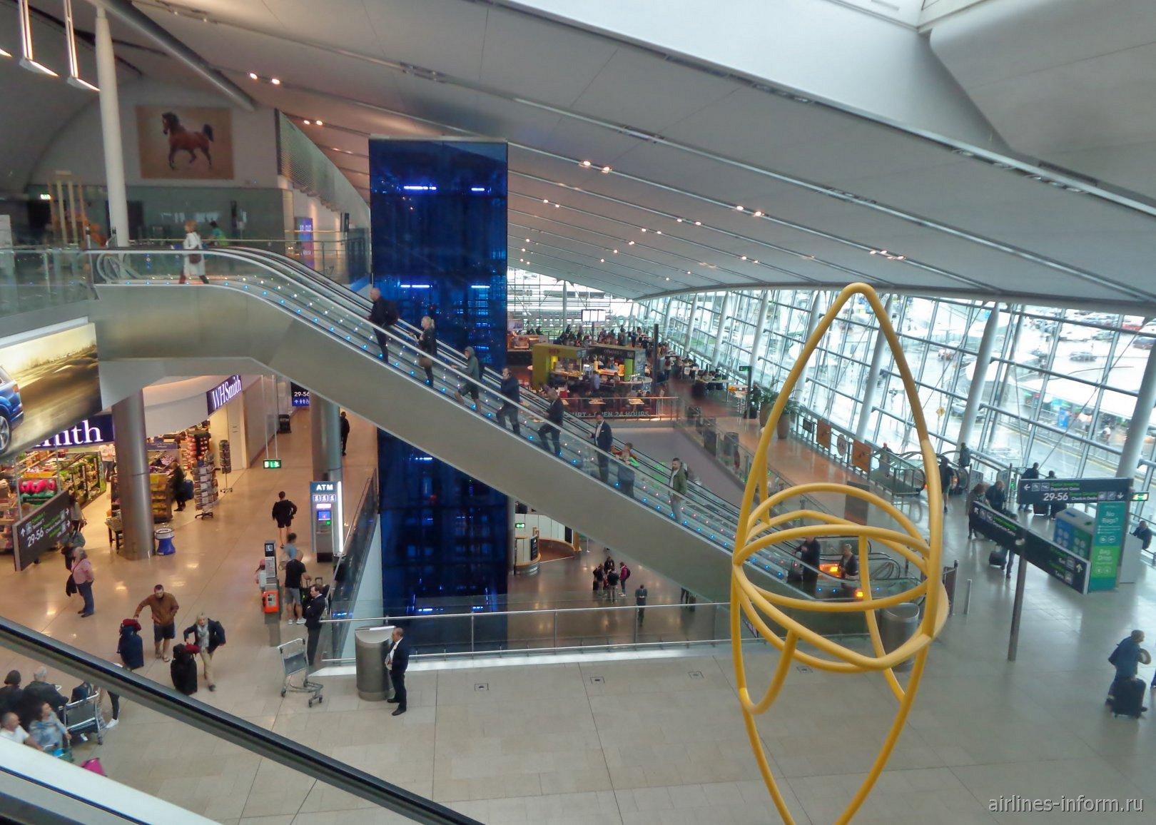 Общий вид терминала 2 аэропорта Дублин