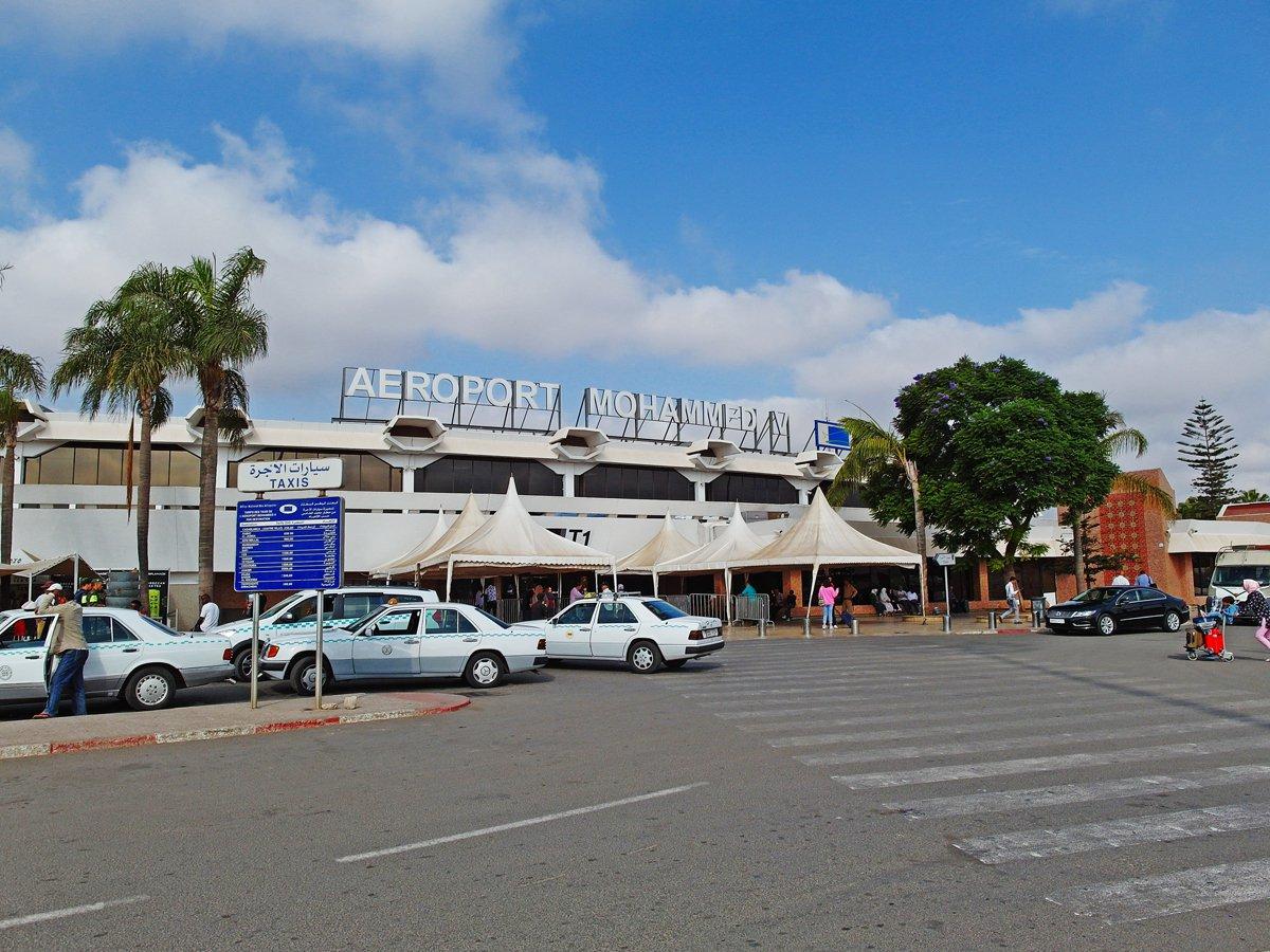 Аэровокзал аэропорта Касабланка имени Мухаммеда Пятого