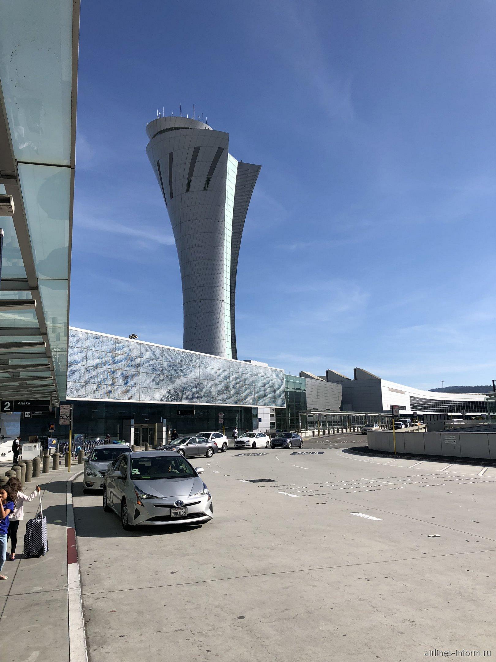 Диспетчерская башня аэропорта Сан-Франциско