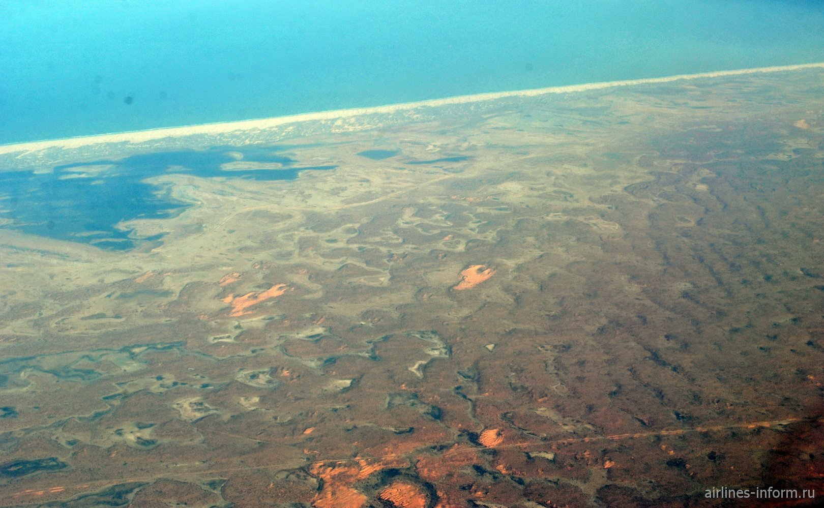 В полете над Мавританией