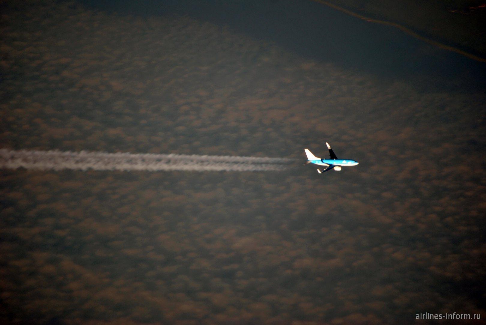 В полете Боинг-737-700 авиакомпании KLM