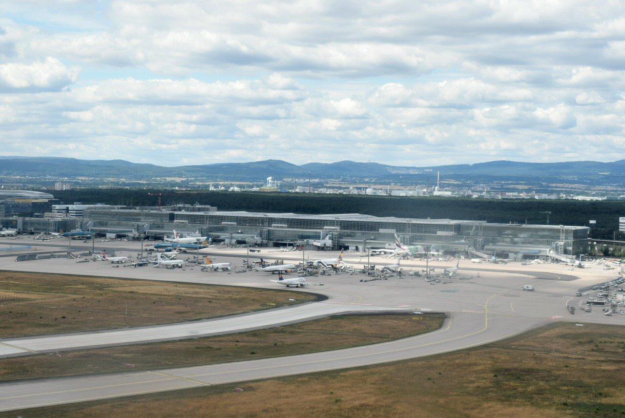 Терминал 2 аэропорта Франкфурт-на-Майне