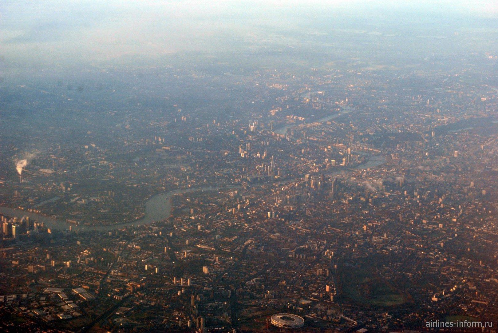 В полете над Лондоном