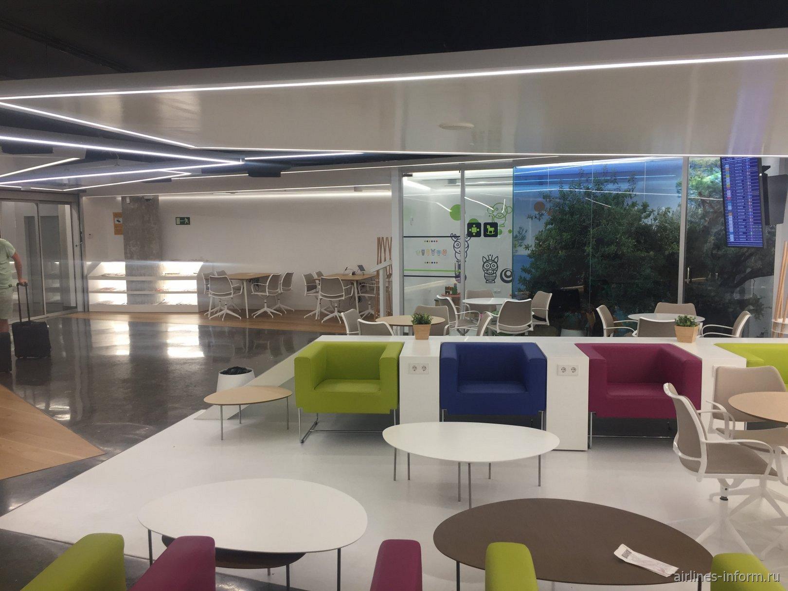 Бизнес-зал в аэропорту Пальма-де-Мальорка