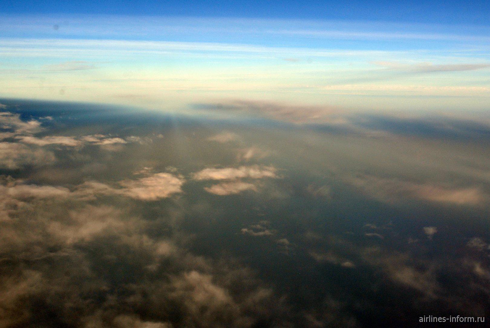 Рассвет над Атлантическим океаном