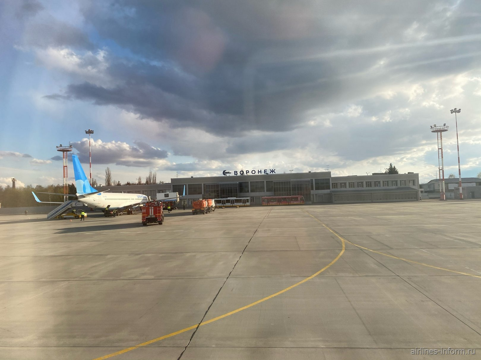 Аэропорт «Чертовицкое» имени Петра Великого