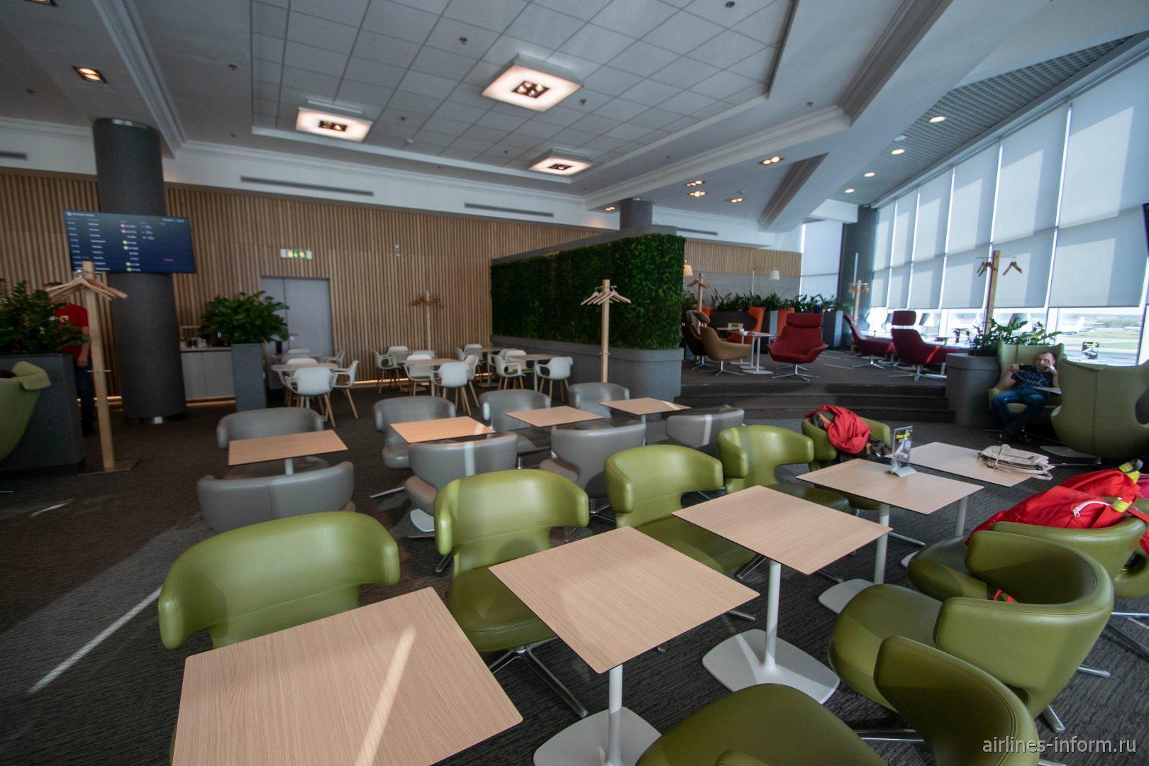 Бизнес-зал S7 в аэропорту Москва Домодедово