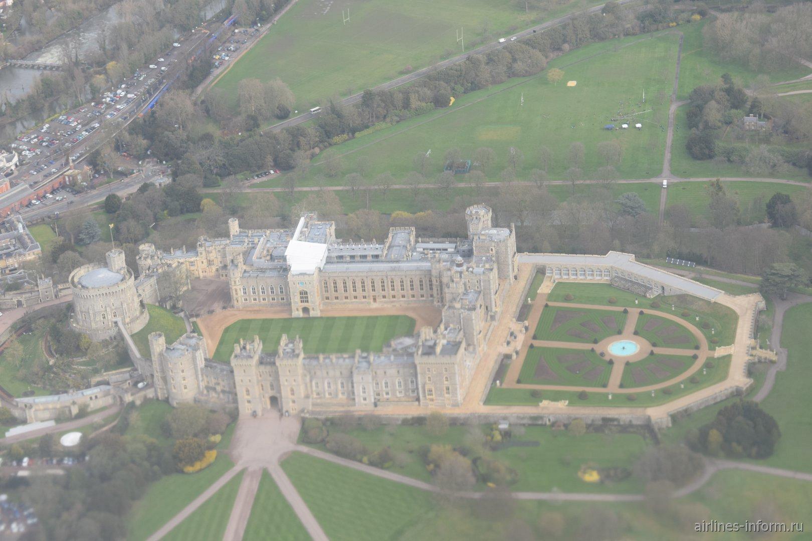 Замок Королевы Великобритании в Виндзоре