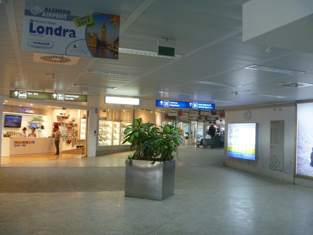 В аэропорту Альгеро Фертилия