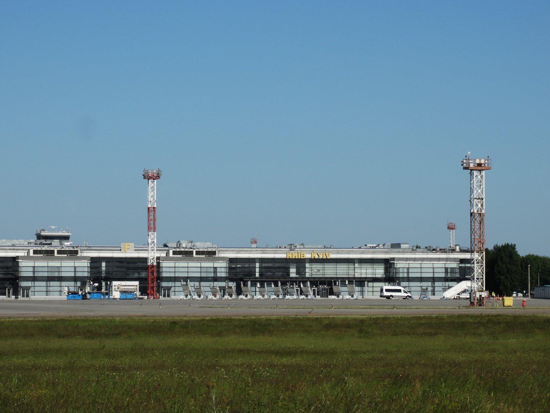 Законсервированный Терминал F аэропорта Киев Борисполь