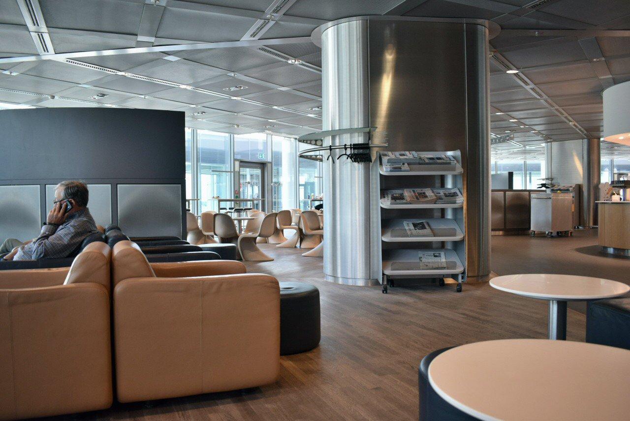 Бизнес-зал Lufthansa в терминале 1 аэропорта Франкфурт
