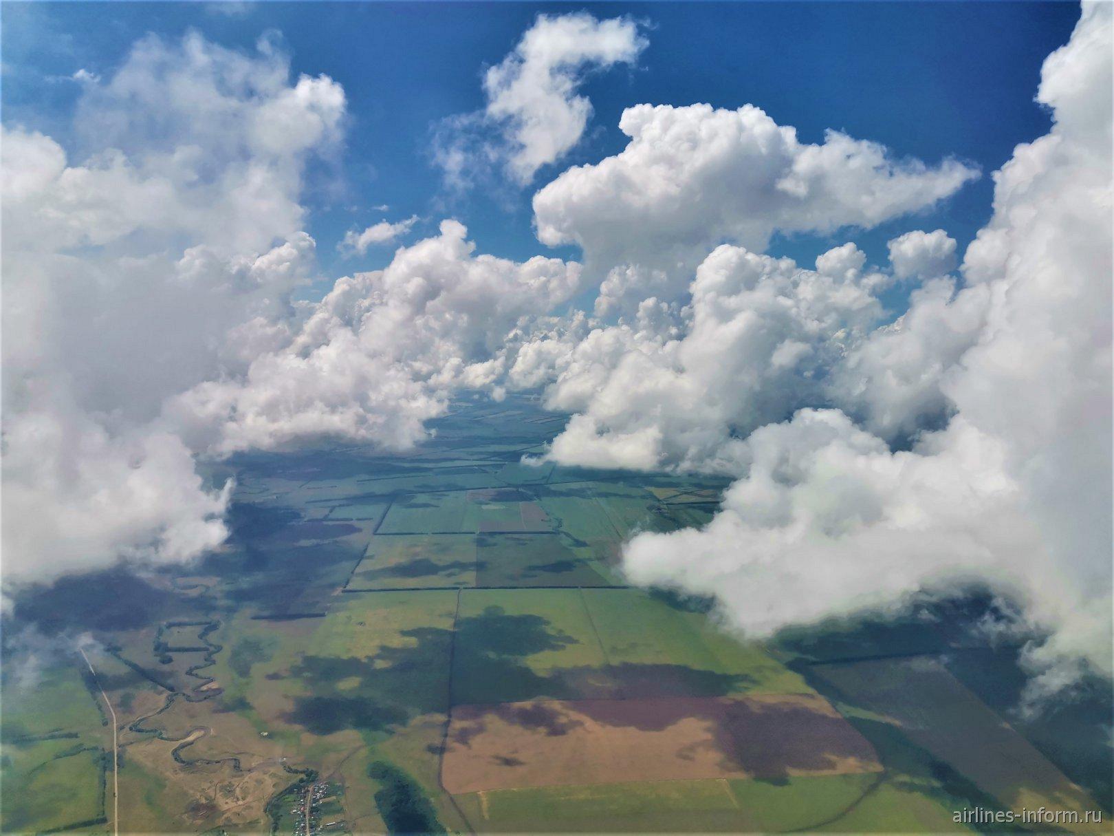 Разрывая облачность
