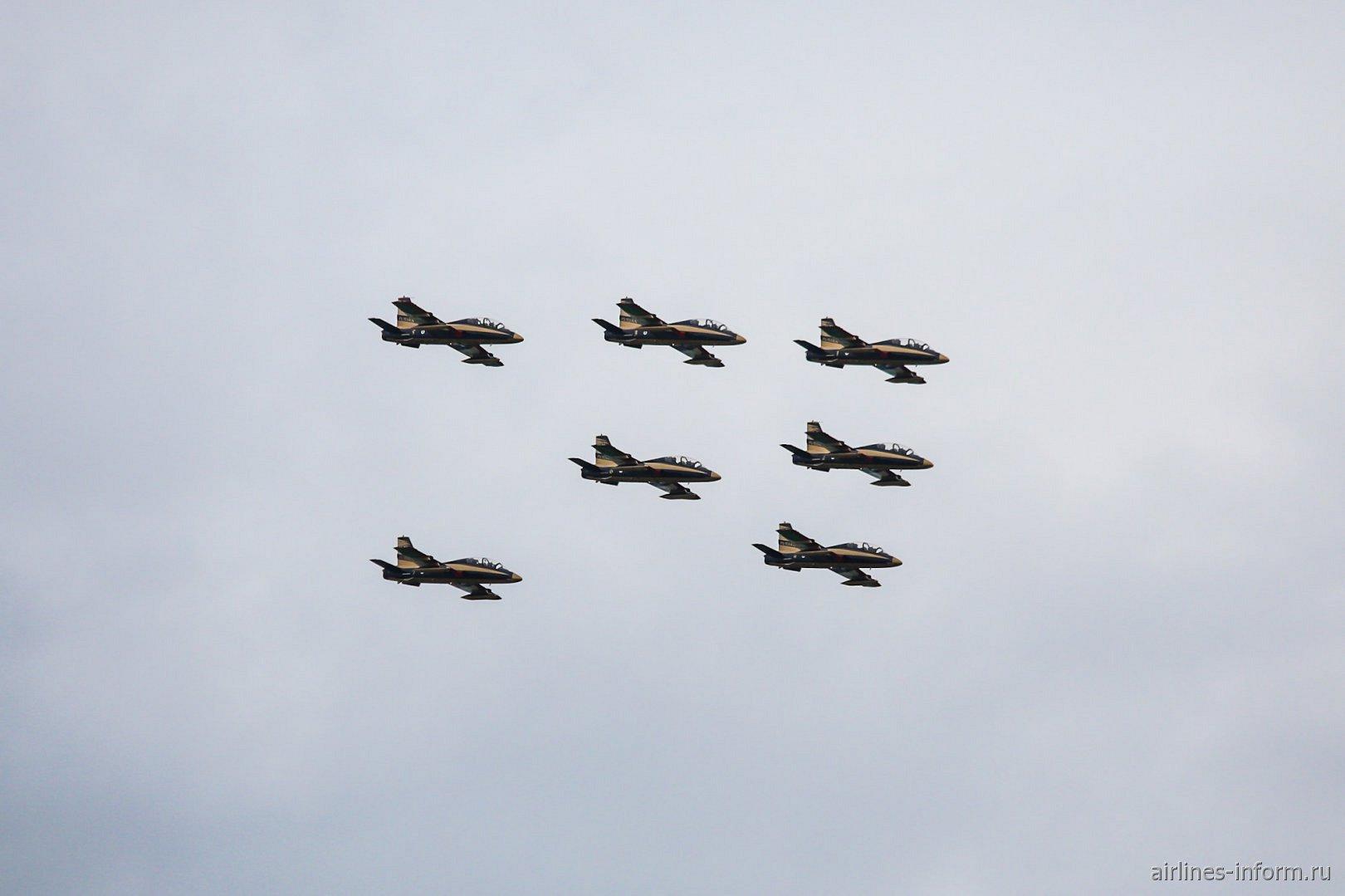 Самолеты пилотажной группы