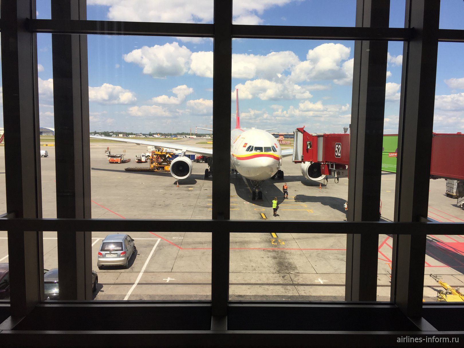 Hainan airlines из Пекина.Тоже а330