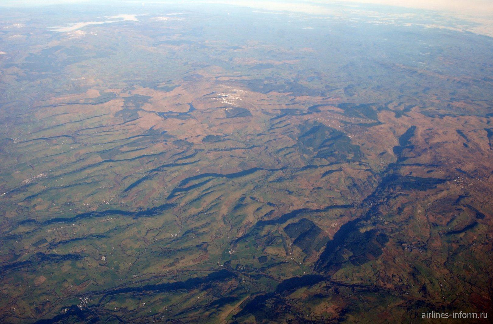 Горы в Уэльсе