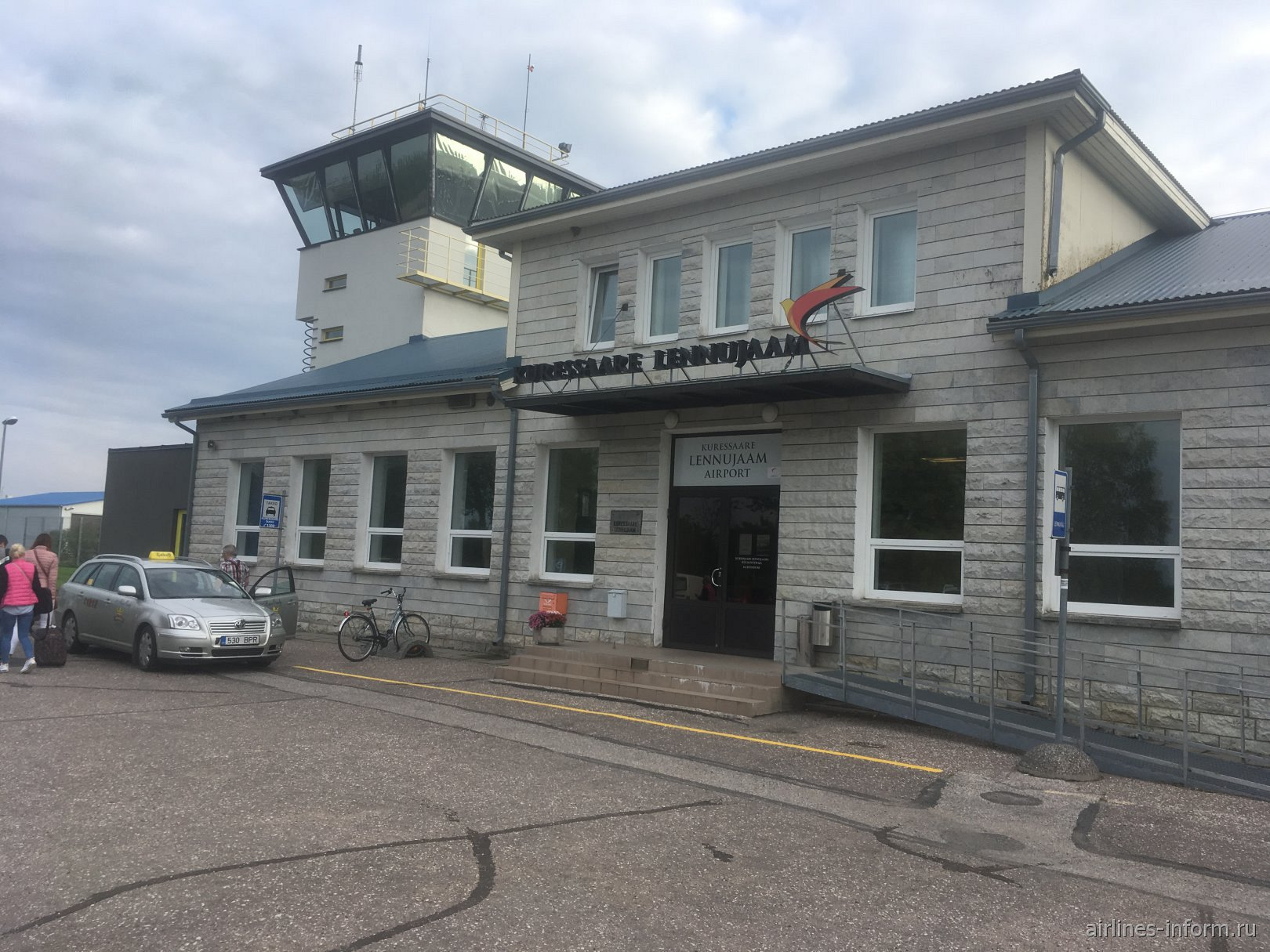 Аэровокзал аэропорта Курессааре
