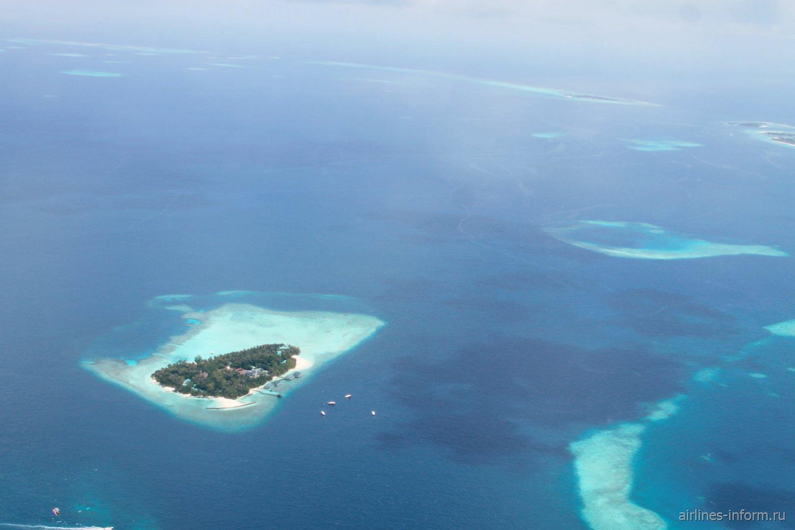 Один из Мальдивских атоллов