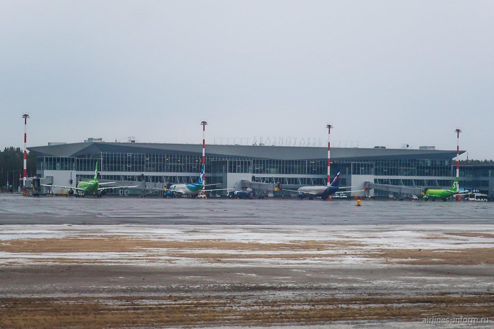 Новый пассажирский терминал аэропорта Красноярск