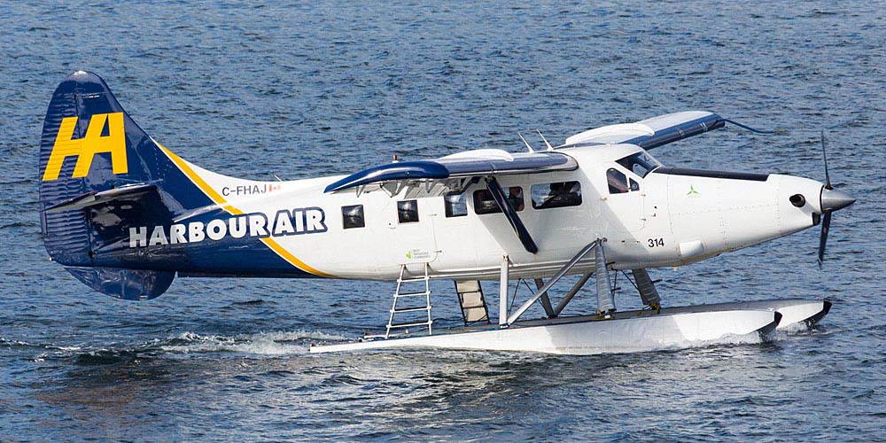 Airlines based in Canada: Harbour Air Seaplanes