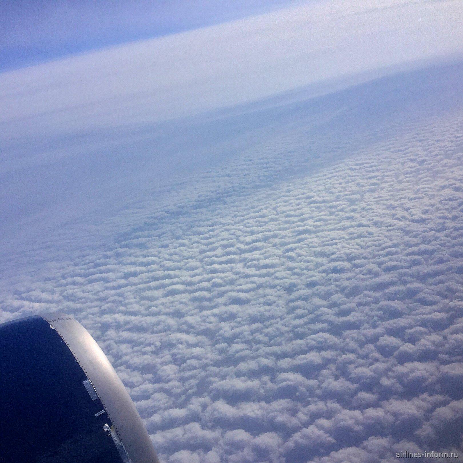 Небо над островом Сахалин