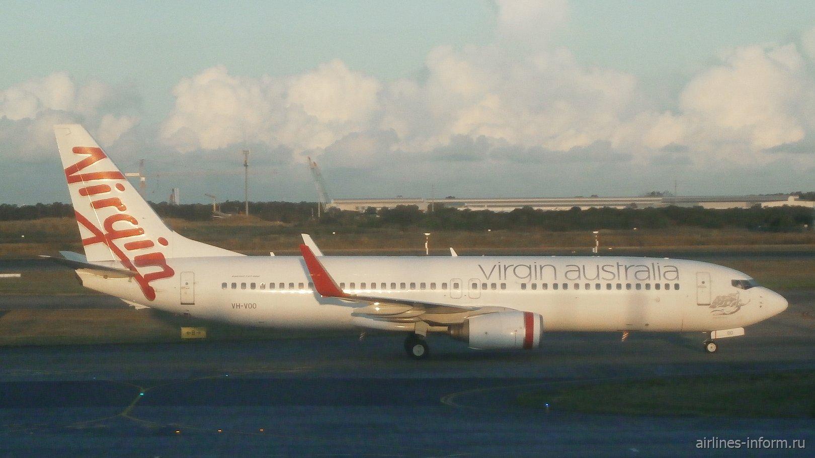 Virgin Australia B737-800 VH-VOO, Brisbane Airport, 4 June 2018