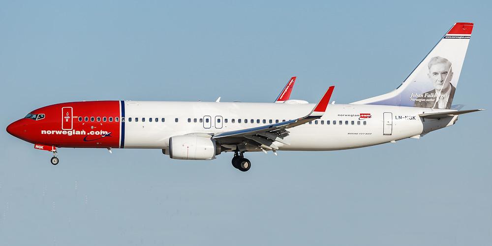 norwegian airlines ungdomsbillett