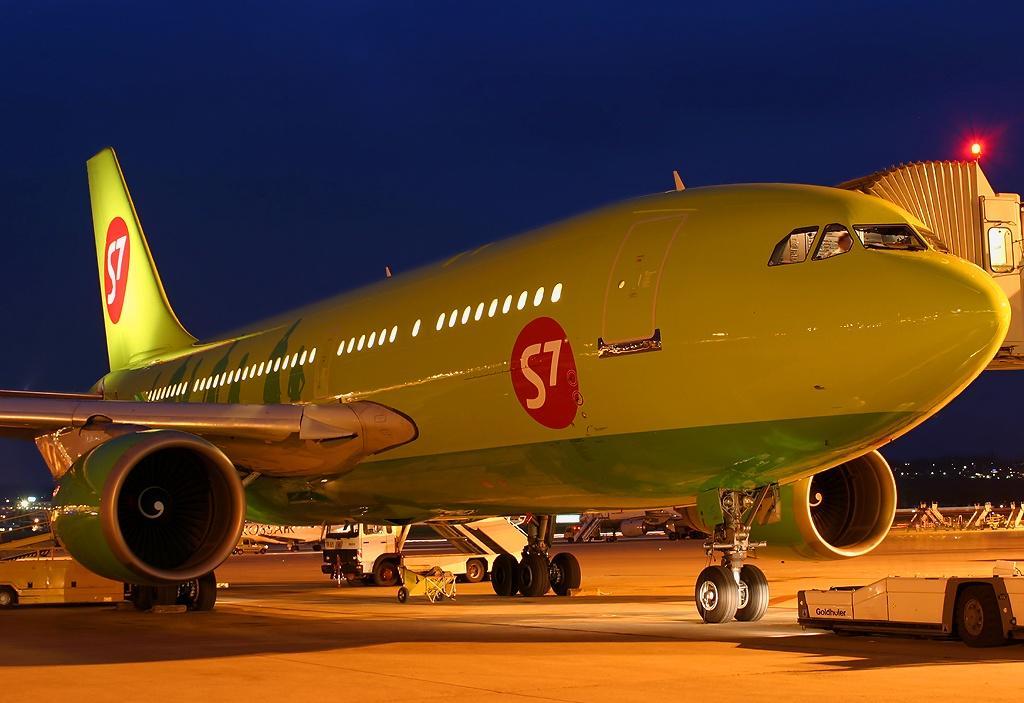 Airbus А310 авиакомпании S7 Airlines